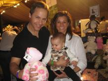 Chad Lowe and a Signature Patchwork Bear