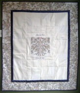 quilt wedding embroider