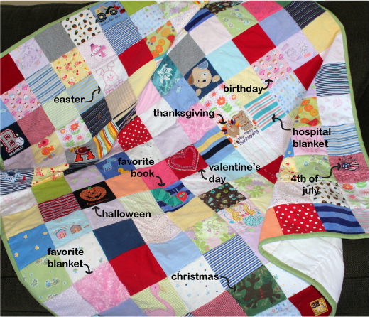 item of the month memory quilts the patchwork bear