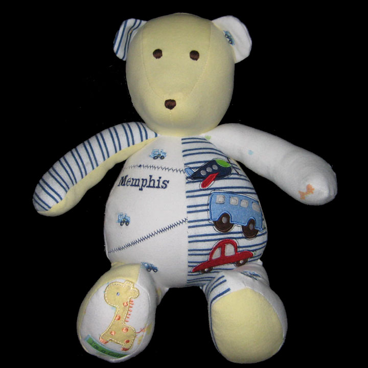 Memory Bear The Patchwork Bear