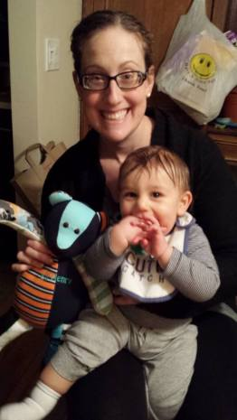 """I ordered a Patchwork Bear for my son for Chanukah. Mommy helped him open it and was overwhelmed at how amazing and wonderful it is. Thank you Patchwork Bear for this incredible treasure!"""