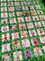 kindergarten quilt detail